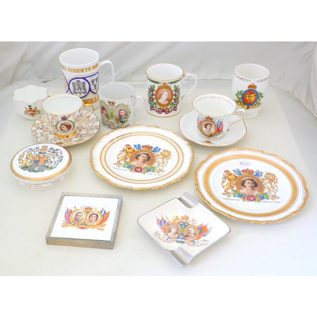 Commemorative Ware Collection KGV to QEII