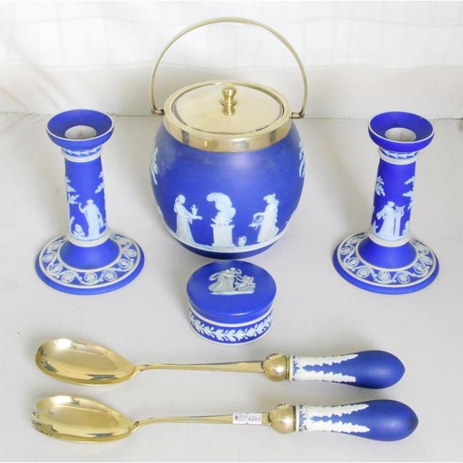 Wedgwood Dark Blue Jasperware
