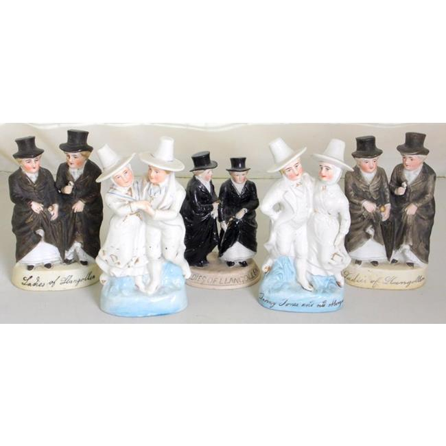 """Continental""""Ladies of LlangollenFigurines"""