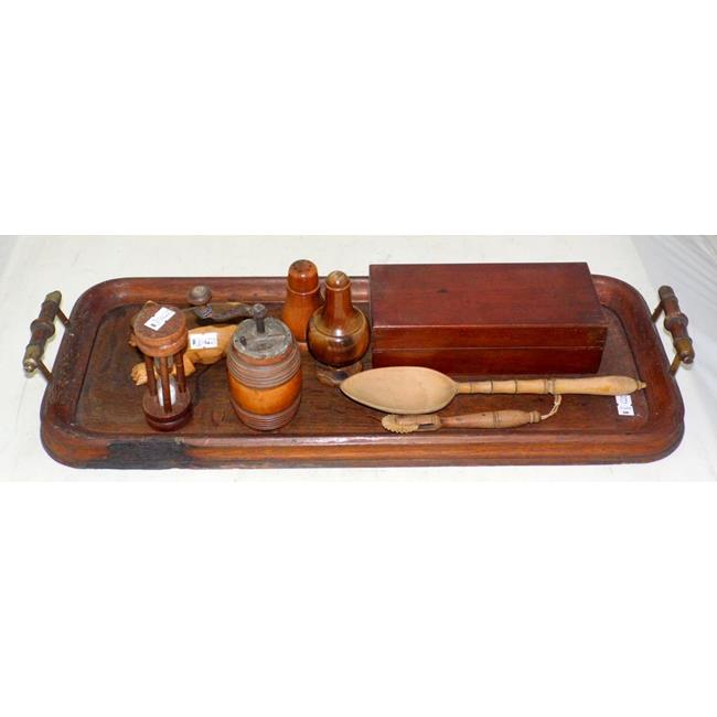 Collection of Antique Treen Items