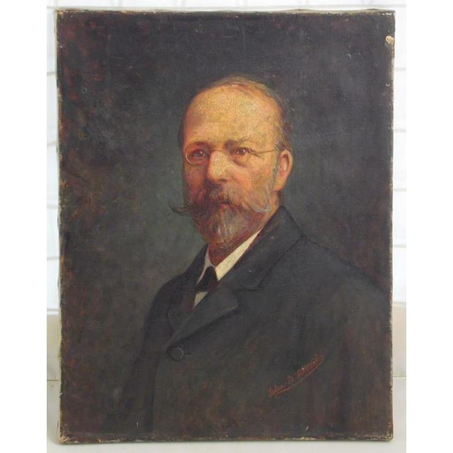 Julia Bracewell Folkard  Portrait of a Gentleman