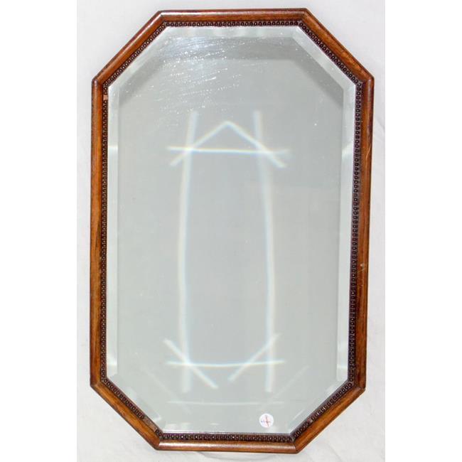 Early 20th Century Oak Wall Mirror