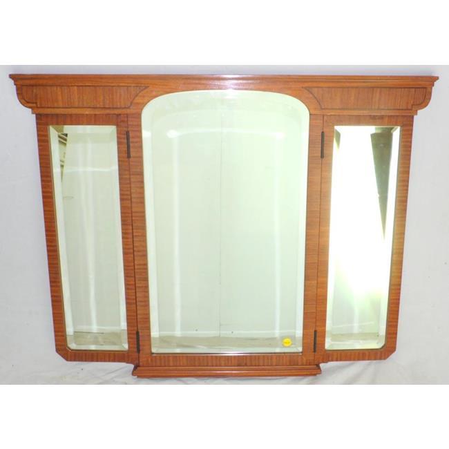 A Biedermeier Dressing Table Tryptich Mirror