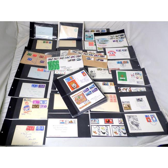 GB Postal Stationary Covers and 1st Day Covers