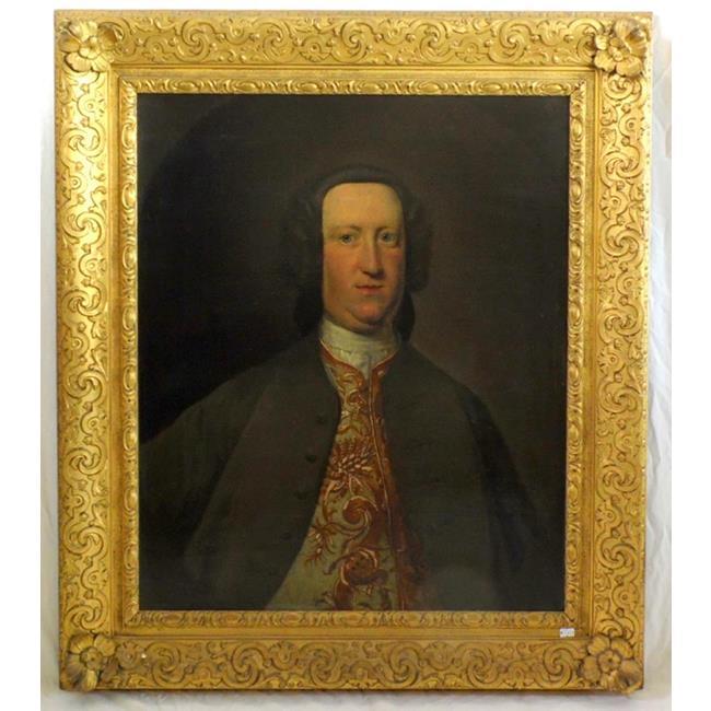 Follower of Johann Zoffany,Portrait of a Gentleman