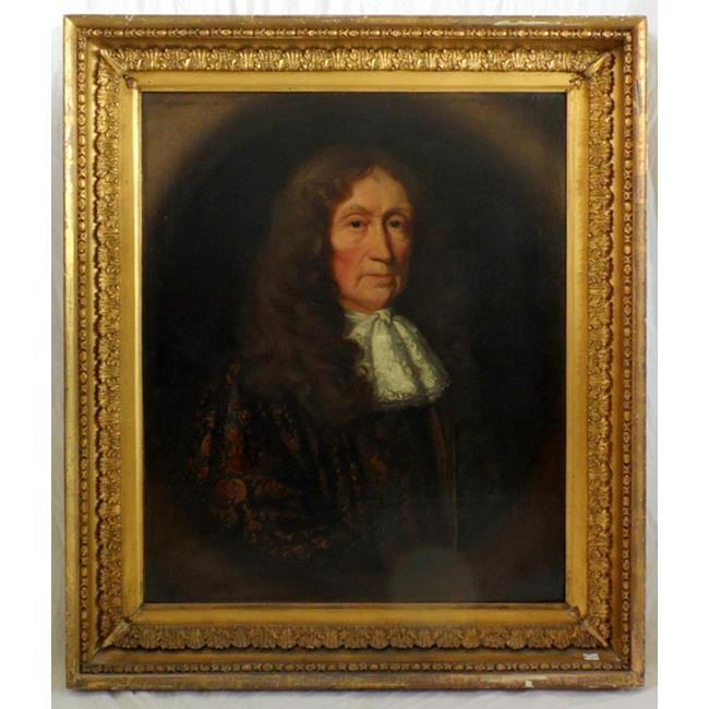 Follower of Henri Gascars Portrait of a Gentleman