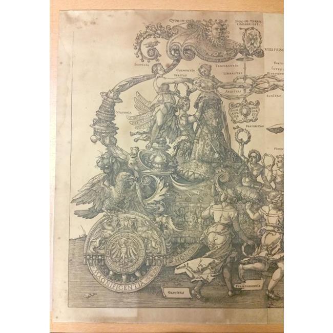 "Albrecht Durer""The Great Triumphal Chariot"""
