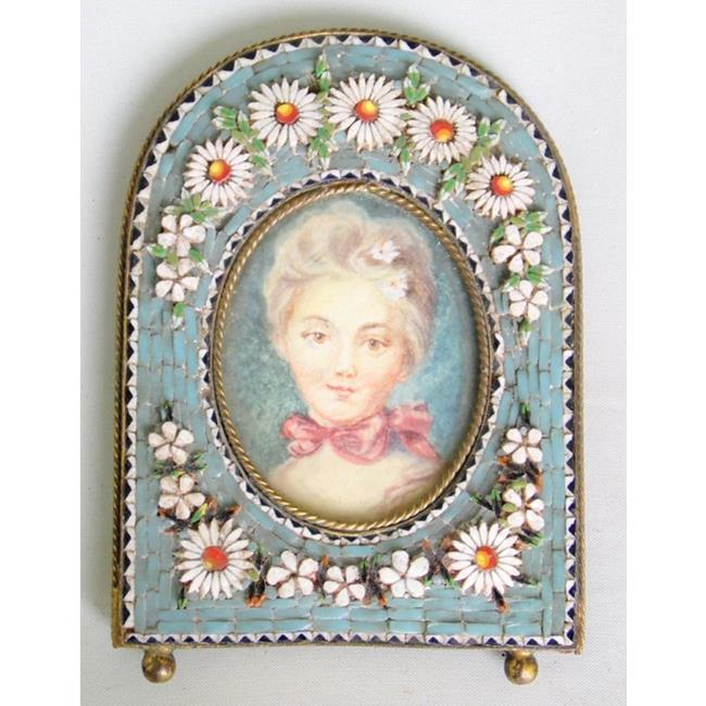 Italian Micromosaic Picture Frame