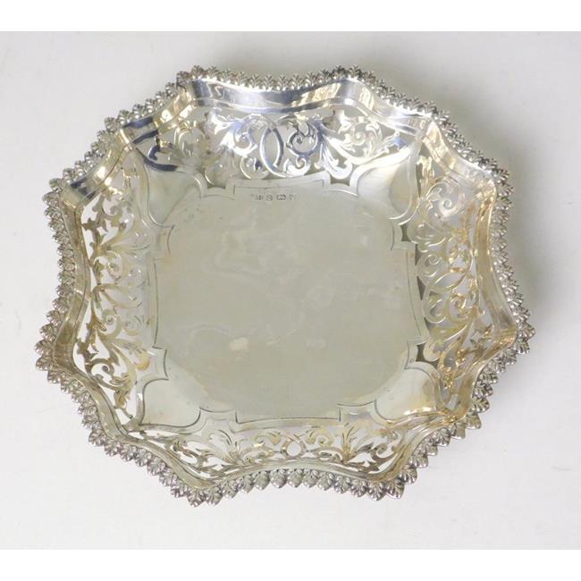 Antique Sterling Silver  Bon Bon/Sweet Dish