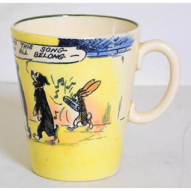 Scarce Royal Doulton'Pip, Squeak and Wilfred' Cup