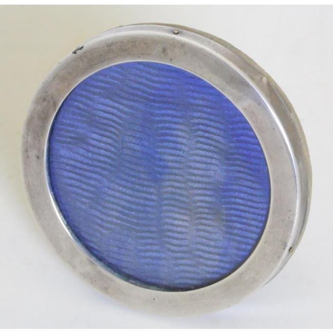 Sterling Silver Circular Photograph Frame