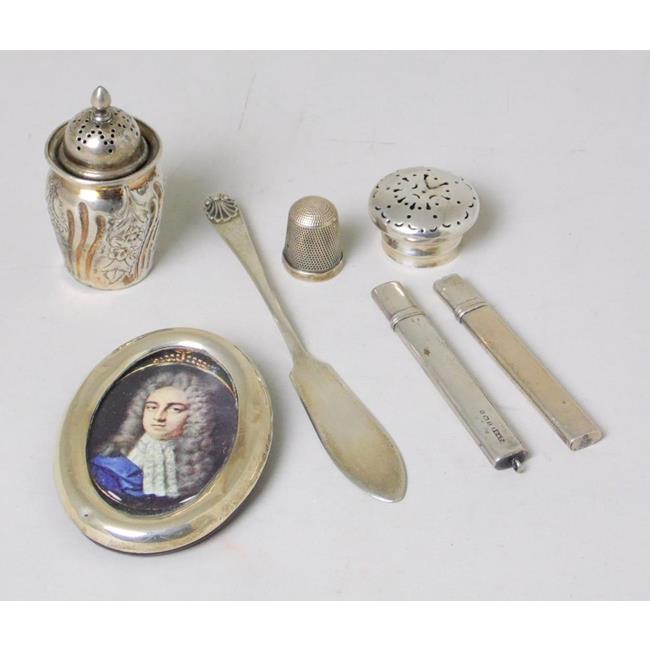 Antique Collection of Hallmarked Sterling Silver