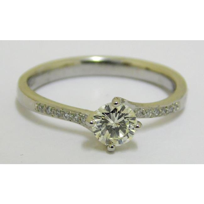 Platinum Diamond 0.40ct Set Solitaire Ring