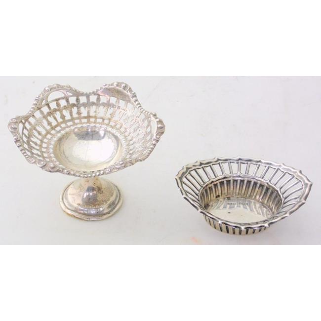 Edwardian Sterling Silver Pierced Bon Bon Dish