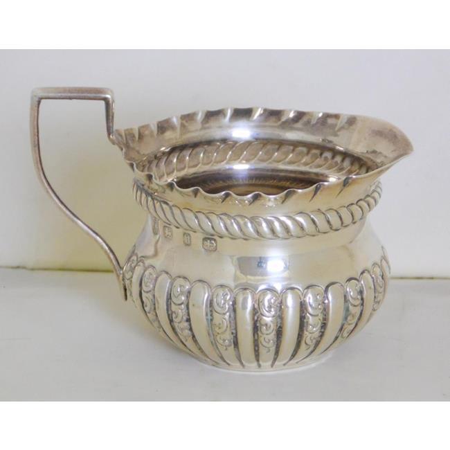 Victorian Sterling Silver Cream Jug c.1876.