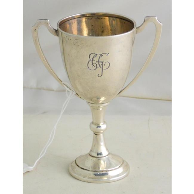 Sterling Silver Golf Trophy Cup