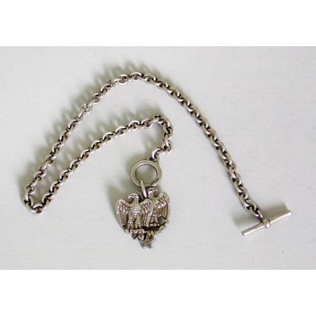 Sterling Silver Double Headed Eagle Bracelet.
