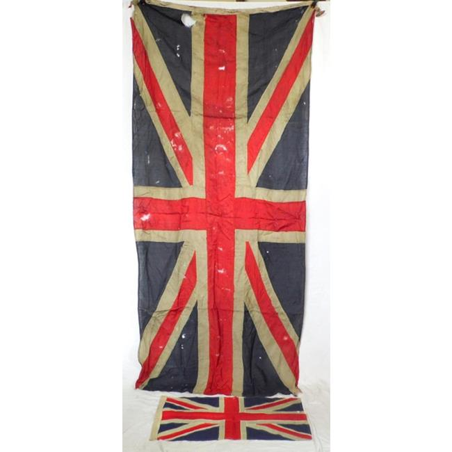 Antique Large Stich Panel Union Jack