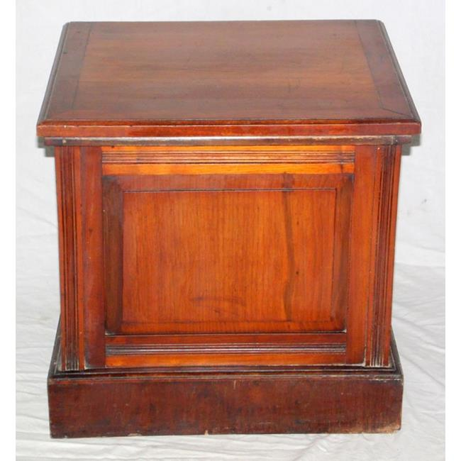 Victorian Mahogany Box Commode