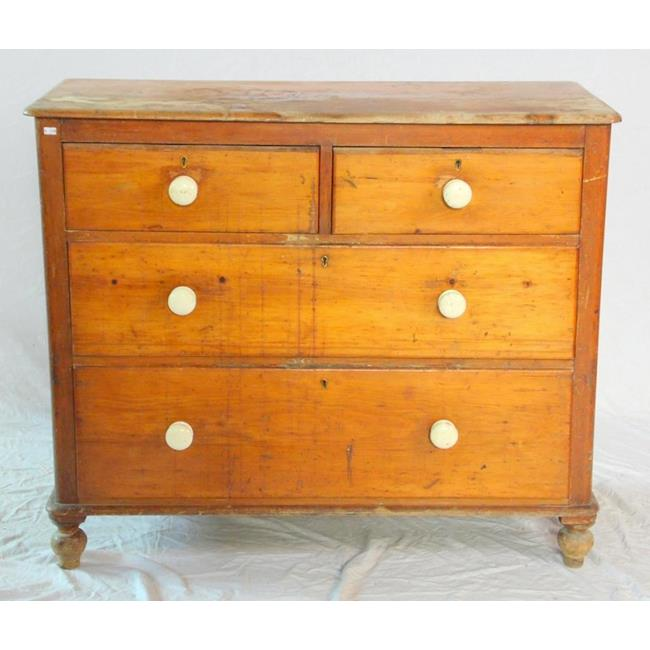 Victorian Pine Chest of Drawers.19thc