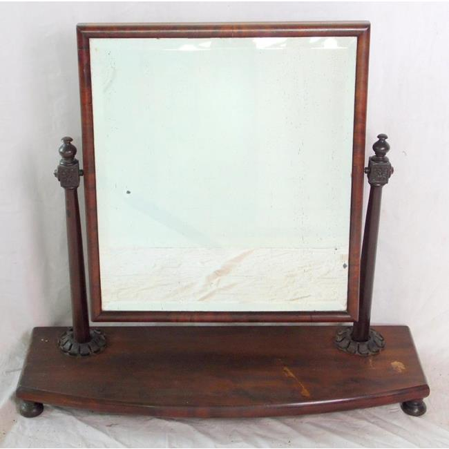 Victorian Dressing Chest Mirror. 19thc