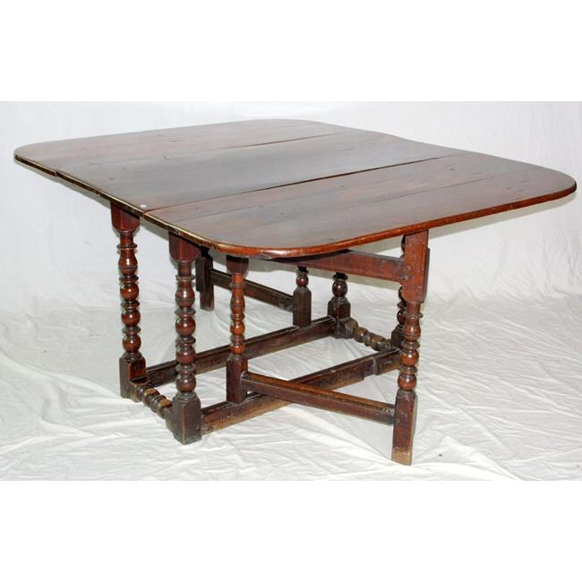 Large 17th Century Oak Gateleg Table