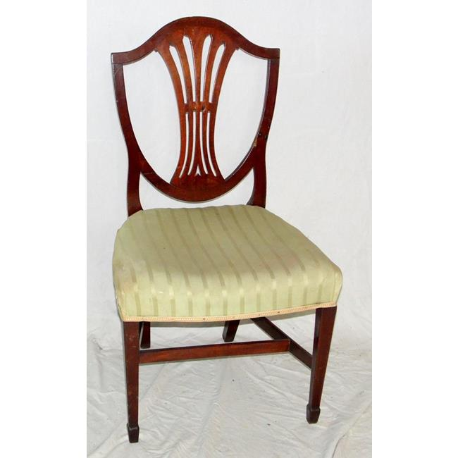 Georgian Mahogany Shield Back Dining.Chair.