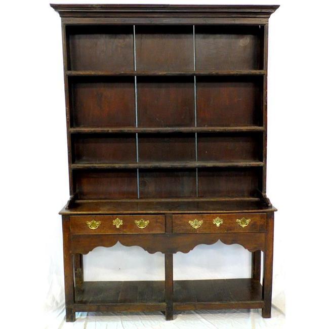 Antique Montgomeryshire Oak and Pine Dresser