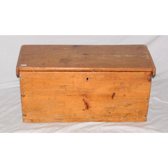 Georgian Antique Pine Box.Late 18thc.