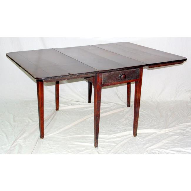 Georgian Oak Gateleg Table 18th Century.