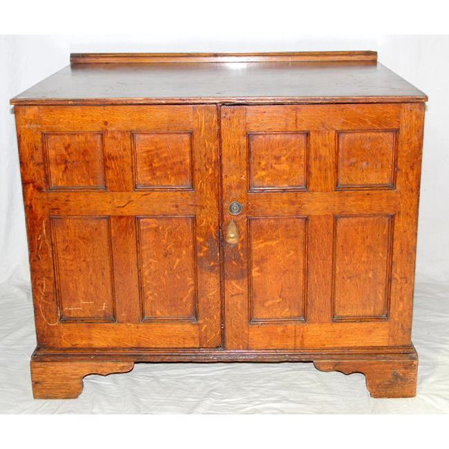 18th Century Oak Collectors or Specimen Chest