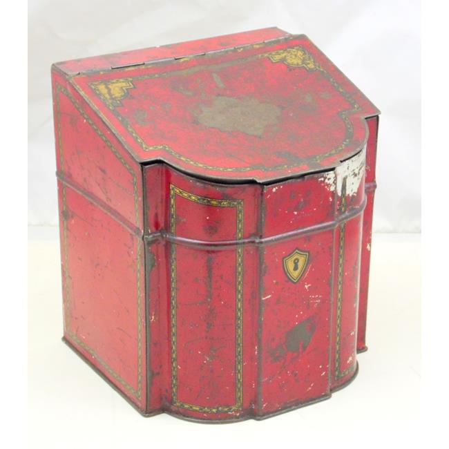 Scarce Antique Williams Liverpool Tea Caddy Tin
