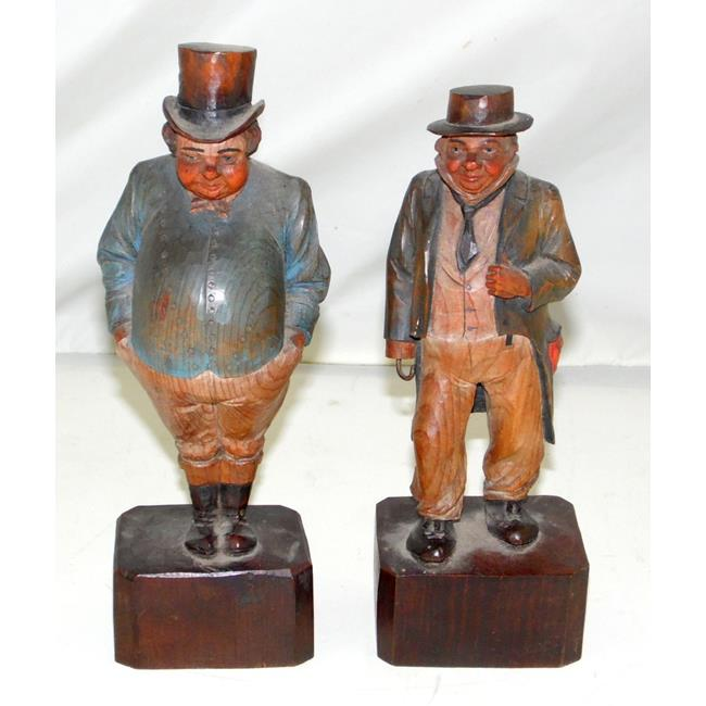 Vintage Anri  Hand Carved Dickens Figures