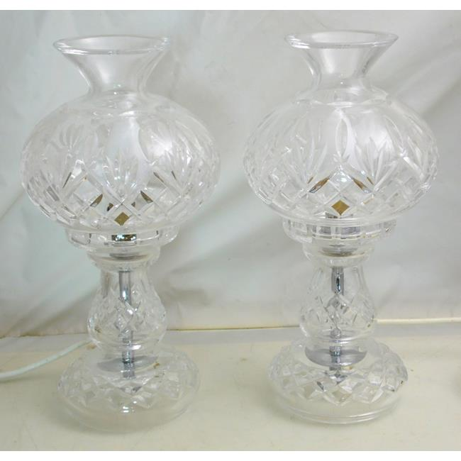 A Pair of Waterford Crystal Table Lamps