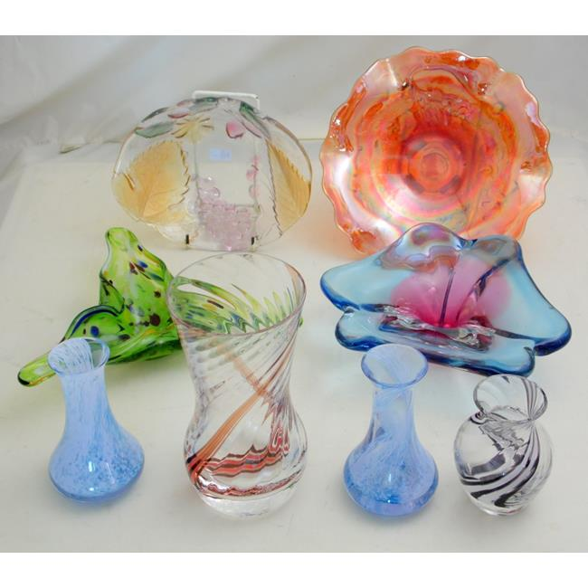 Collection of Art Glass