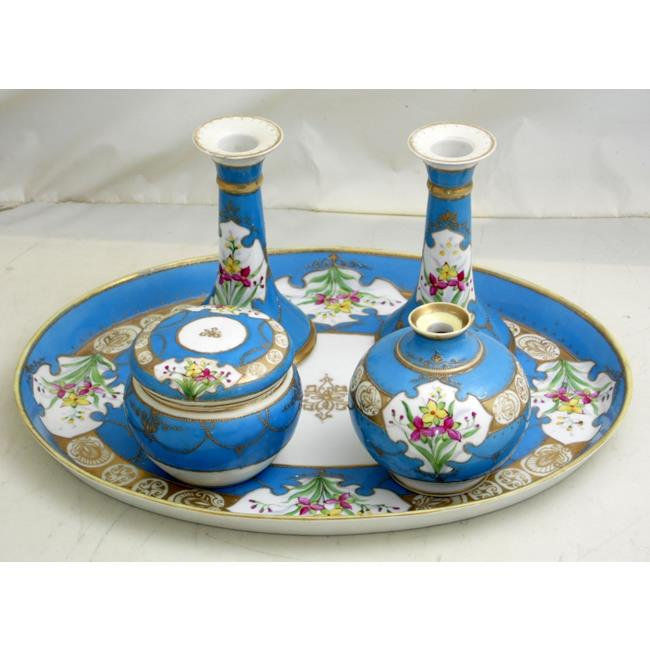 Edwardian Export Noritake Dressing Table Set.