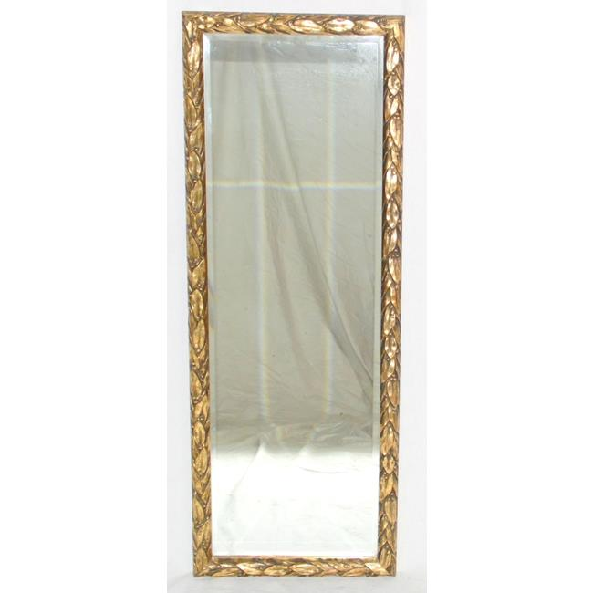 Vintage Apex Bevelled Wall Mirror with Gilt Frame