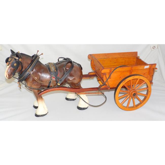 "Vintage""Melba WareShire Horse and Cart. 20thc."