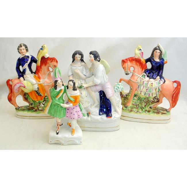 Antique Staffordshire Figures.19thc