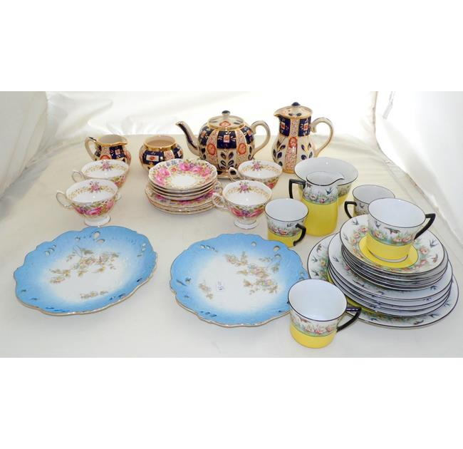 Collection of Tea Sets & Plates