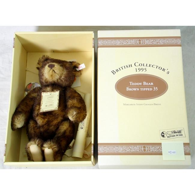 Steiff Brown Tipped 35 Bear 1995 Limited Edition