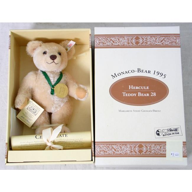 Steiff Monaco Bear 1995 Hercule Limited Edition