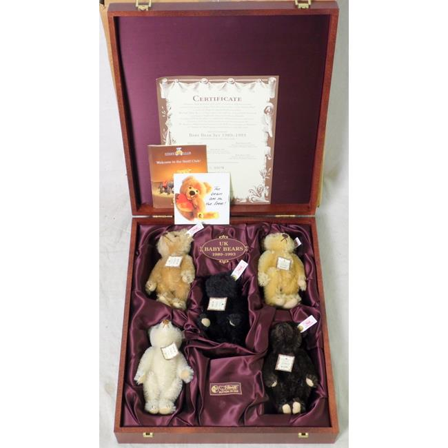 Steiff Bears*UK Baby Bear Set 1999-2003