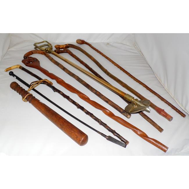 Collection of Walking Sticks x  6