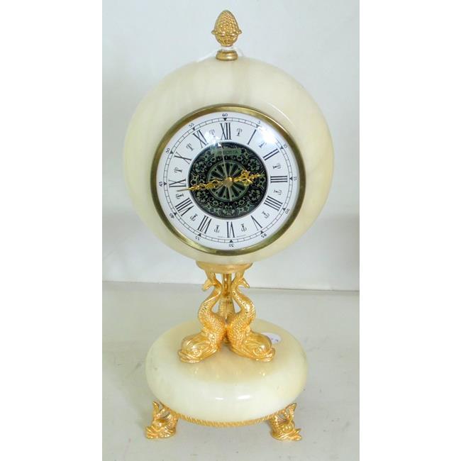 A Precista Onyx Mantel Timepiece