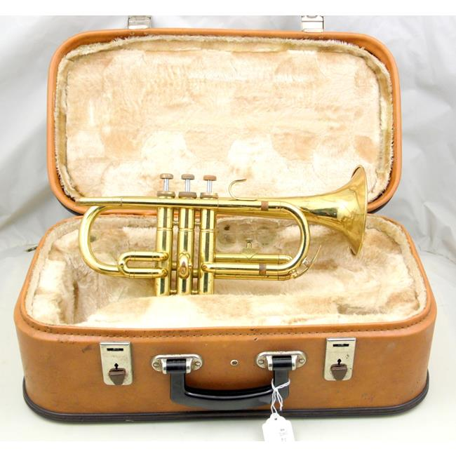 Amati Kraslice ACR 251 Cornet with Case.