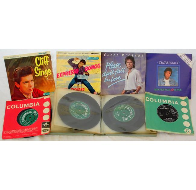 Cliff Richards 45 R.P.M. Columbia Records