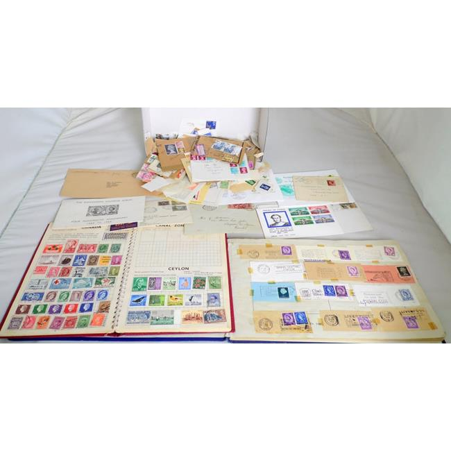 Collection of Unsorted World Stamps