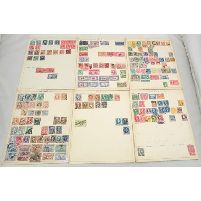 Old Stamp Collection of USA and Canada.