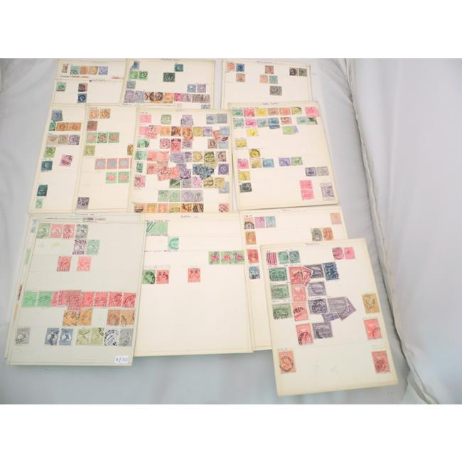 Old Stamp Collection of Australia/New Zealand